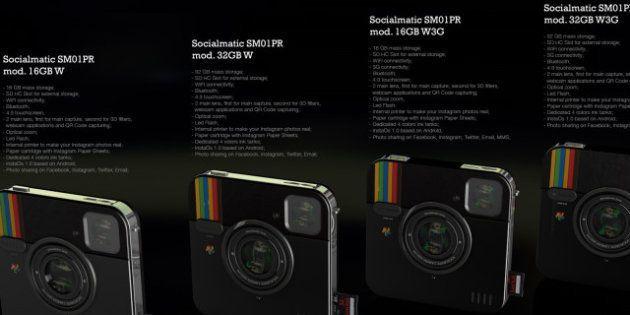 VIDÉO. Socialmatic : l'appareil photo Instagram signé Polaroid va devenir