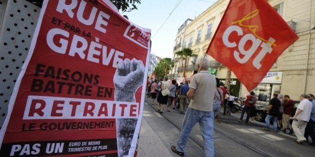 Manifestation sur les retraites: un minimum syndical