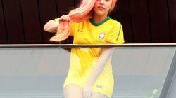 Lady Gaga sans