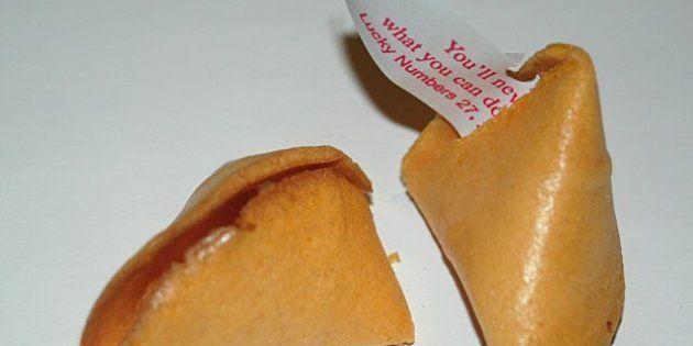 PHOTOS. Des fortune cookies aux messages