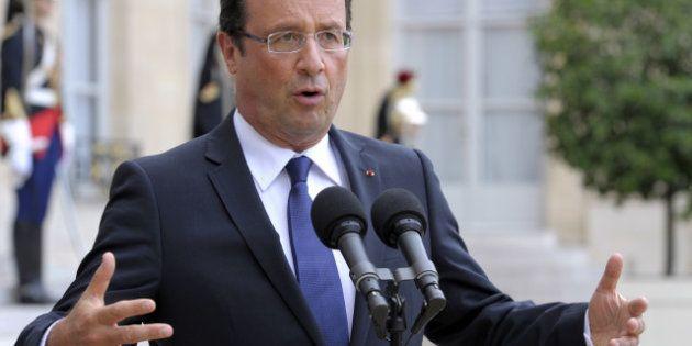 Revivez la conférence de presse de François Hollande sur Le Huffington