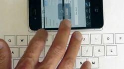 Vibrative, le clavier virtuel pour