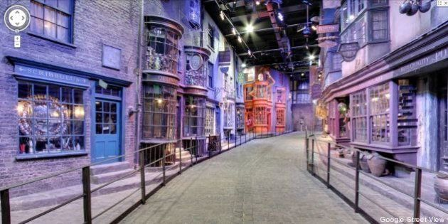 PHOTOS. Harry Potter: Google Street View nous emmène sur le