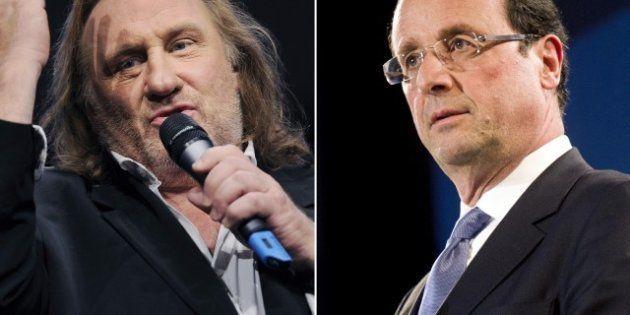 VIDÉO. Russie: Hollande et Depardieu se vannent par médias