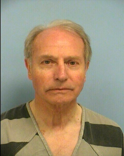 This photo provided by the Austin Police Department shows Gerold Langsch. The Rev. Langsch, of Austin, was arrested Thursday, March 14, 2019, and charged with assault by contact stemming from the October encounter. The 75-year-old priest is free on $15,000 bond. If convicted, he could be sentenced to a year in jail and fined up to $4,000. (Austin Police Department via AP)