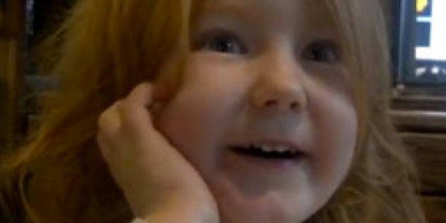 VIDEO. La petite Abigael,