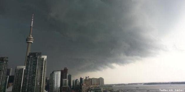 PHOTOS. VIDEOS. Canada: les inondations de Toronto en