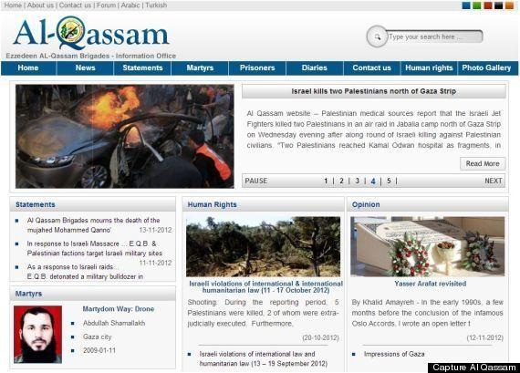 L'armée israélienne tweete en direct son attaque contre la bande de