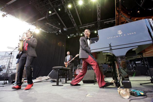 Jon Batiste au Nice Jazz