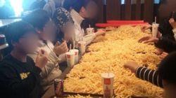 Ils commandent 200 euros de frites dans un McDo et se font