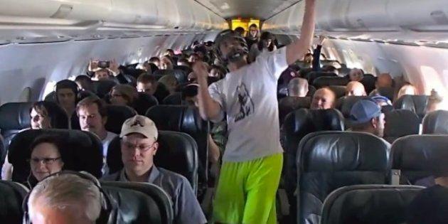 Harlem Shake: une enquête fédérale sur une vidéo tournée dans un avion par des étudiants du Colorado