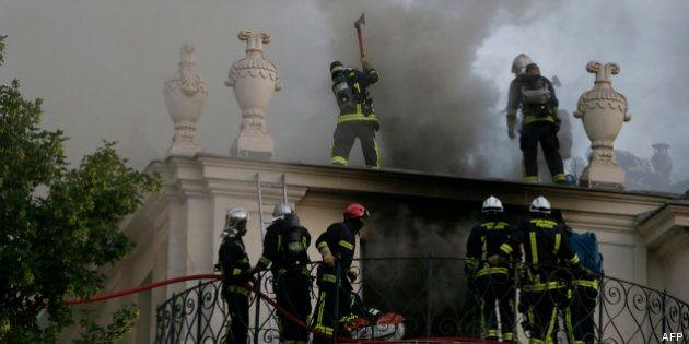L'incendie de l'hôtel Lambert sur l'île Saint-Louis a causé des dommages