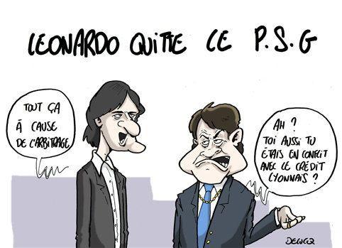 PSG: pourquoi Leonardo