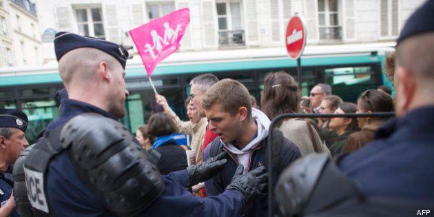 Mariage gay: simple amende ou relaxe pour 8 manifestants de La Manif pour tous jugés en