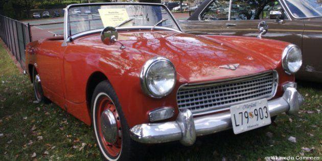 eBay: une petite fille achète une voiture de collection Austin-Healey avec le smartphone de son