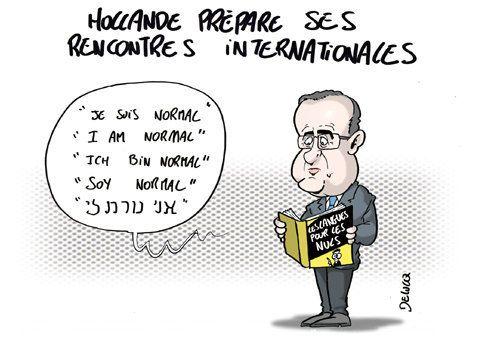 La diplomatie Hollande: les promesses à moitié tenues du