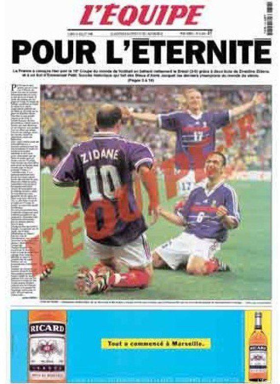 VIDÉOS. Coupe du monde 98: la victoire de l'équipe de France a 15