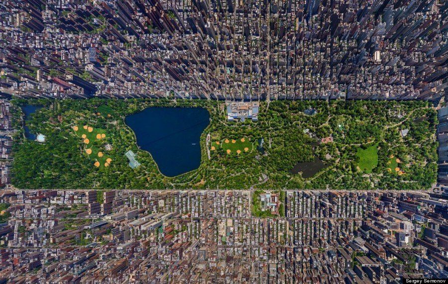 PHOTOS. New York: un panorama 3D impressionnant de Central Park vu du