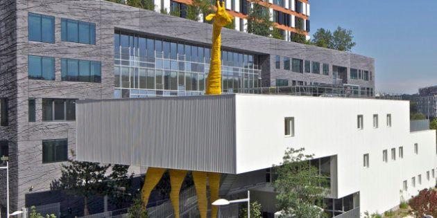 PHOTOS. La crèche C1 de Boulogne-Billancourt: un lieu écologique au graphisme