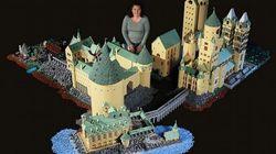 PHOTOS. Harry Potter: elle construit le château de Poudlard avec 400.000 briques de