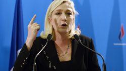 Marine Le Pen demande à Hollande un référendum sur la sortie de