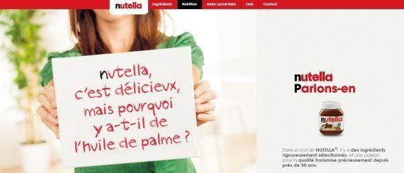 Taxe Nutella : la firme contre-attaque avec une publicité sur l'huile de