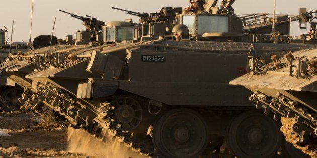 Gaza: après les raids aériens, Israël se prépare à une offensive