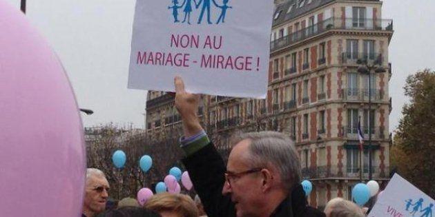 Manifestation: plus de 100.000 opposants au mariage gay défilaient samedi à Paris, en province et sur