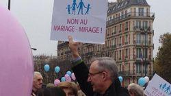 Plus de 100.000 opposants au mariage gay défilent à Paris, en province et sur