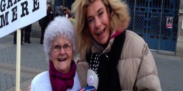 VIDÉO. Lucienne soutient Frigide Barjot pour la manifestation anti-mariage gay du 24