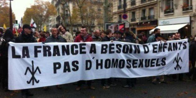 PHOTOS.La manifestation de Civitas contre le mariage homosexuel a