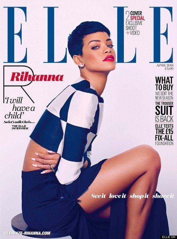 PHOTO. Rihanna confie vouloir un enfant dans les cinq années à