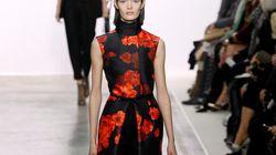 La fashion week vue de Twitter : Jessica Alba et de belles fleurs