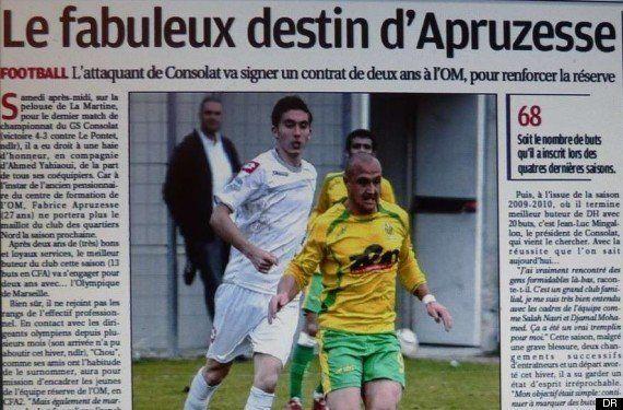 Football: Fabrice Apruzesse, attaquant à l'OM, nouvelle star de la Ligue 1 et du