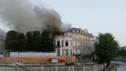 Hôtel Lambert : Les images du cabinet détruit par