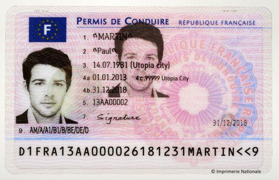 PHOTOS. Le nouveau permis de conduire électronique arrive en