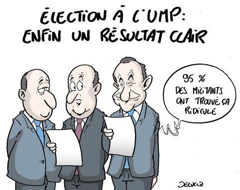 Élections à l'UMP: enfin un résultat clair et