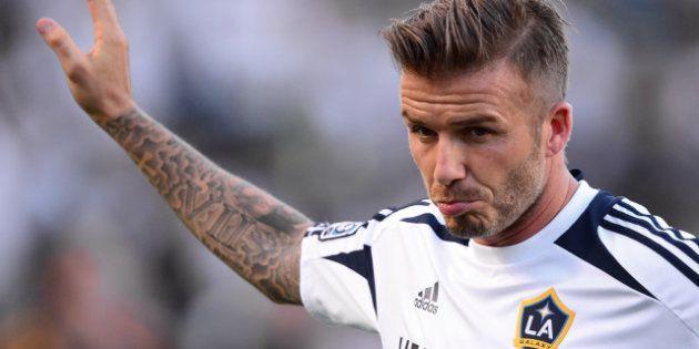 Football: David Beckham annonce son prochain départ des Los Angeles