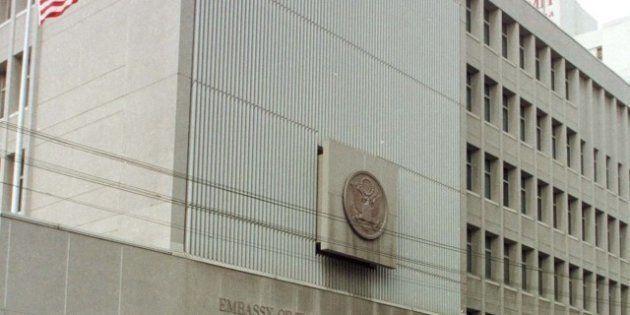 Un homme armé d'un couteau attaque l'ambassade américaine à Tel-Aviv, les gardes ouvrent le