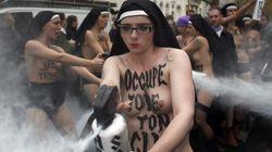 Les Femen ont-elles attaqué des enfants
