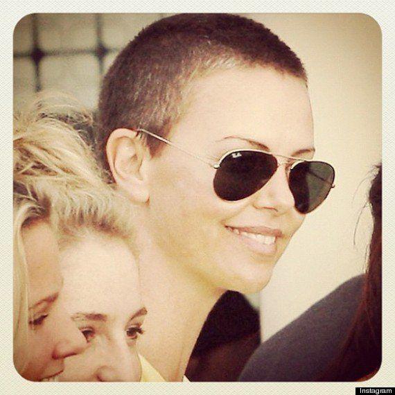 PHOTOS. De Miley Cyrus à Charlize Theron, la mode des people est aux cheveux
