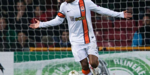 VIDÉO. Luiz Adriano inscrit le but le moins fair-play de l'année avec le Shakthar Donetsk en Ligue des