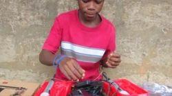 Ce petit génie du Sierra Leone devenu le plus jeune invité du