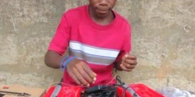 Kelvin Doe, le petit génie du Sierra Leone qui a impressionné le