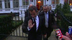 Pendant que l'UMP se débat, Nicolas Sarkozy donne sa troisième