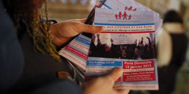 Manifestation anti-mariage gay du 13 janvier à Paris, demandez le