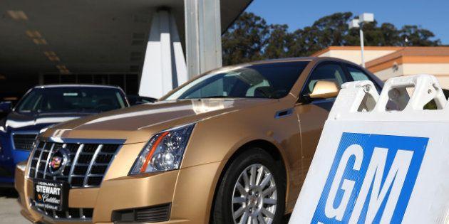Constructeur automobile: au classement, GM perd sa place de leader face à