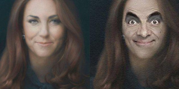 Détournements: le portrait officiel de Kate Middleton parodié par les