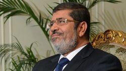 Le président égyptien,