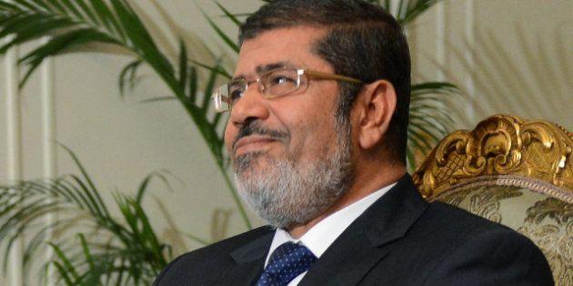 Le président égyptien Mohamed Morsi renforce ses